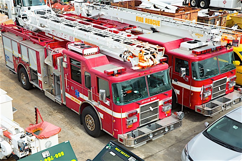 Used Fire & Rescue Trucks For Sale