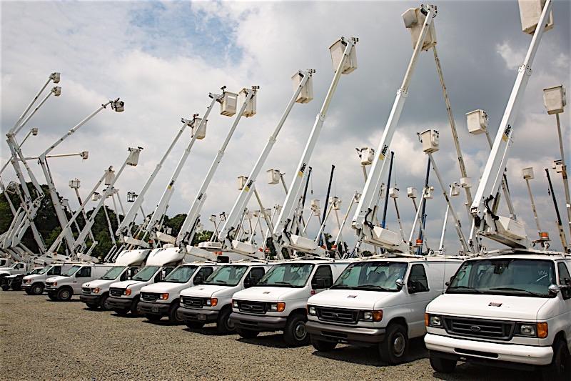Used Telecommunications Bucket Trucks For Sale